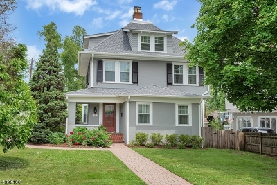 Montclair Twp. Single Family Home For Sale: 49 Brunswick Road
