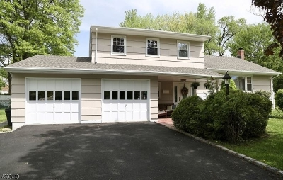 Madison Boro Single Family Home For Sale: 10 Ashland Rd