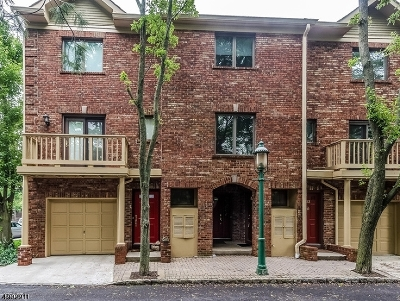 South Orange Village Twp. Condo/Townhouse For Sale: 31 Mews Ln