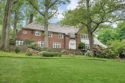 Montclair Twp. Single Family Home For Sale: 330 Upper Mountain Ave