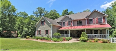 Stillwater Twp. Single Family Home For Sale: 1020 Old Foundry Rd