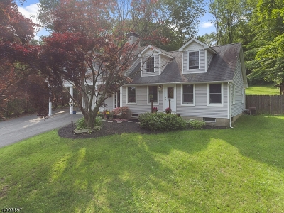 Sparta Twp. Single Family Home For Sale: 11 Under Rock Rd