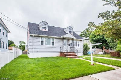 Linden City Single Family Home For Sale: 544 Middlesex St