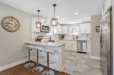 Maplewood Twp. Single Family Home For Sale: 22 Overlook Ter