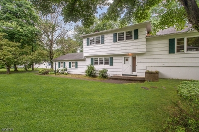 West Caldwell Twp. Single Family Home For Sale: 12 Aldom Cir
