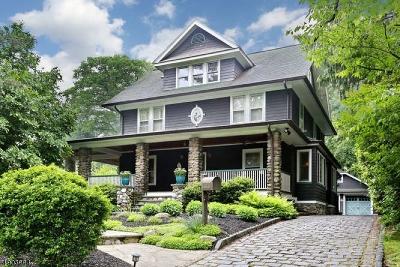 Glen Rock Boro Single Family Home For Sale: 12 Midwood Rd
