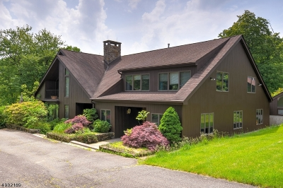 Mendham Boro, Mendham Twp. Single Family Home For Sale: 36 Ironia Rd