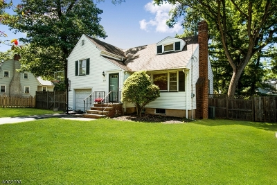 Fanwood Boro Single Family Home For Sale: 177 Belvidere Ave