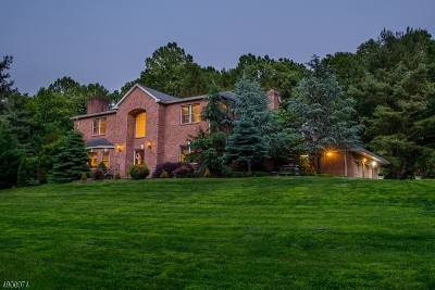Harding Twp. NJ Single Family Home For Sale: $1,995,000