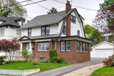 Newark City Single Family Home For Sale: 479-481 Parker St