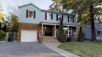 Hillside Twp. Single Family Home For Sale: 170 Conant St