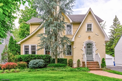 Fanwood Boro Single Family Home For Sale: 33 Watson Rd