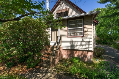 Franklin Twp. Single Family Home For Sale: 597 Howard Ave