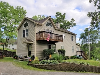 Lafayette Twp. Single Family Home For Sale: 84 Route 15