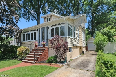 Cranford Twp. Single Family Home For Sale: 72 Lawn Ter