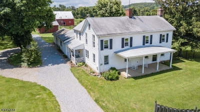 Hunterdon County Single Family Home For Sale: 309 Rosemont Ringoes Rd