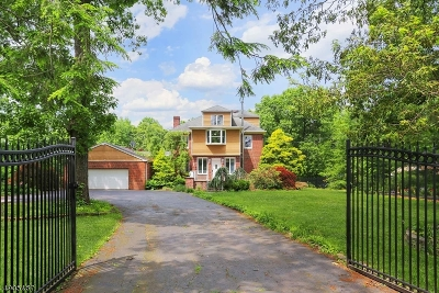Hillsborough Twp. Single Family Home For Sale: 47 Woods Rd