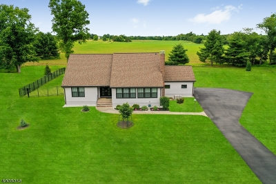 Readington Twp. Single Family Home For Sale: 10 Judge Thompson Rd