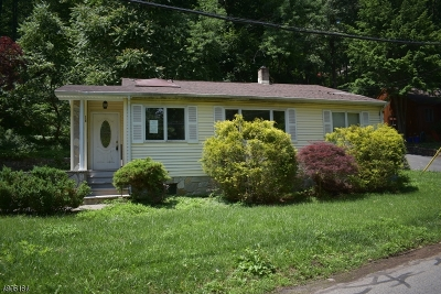 Boonton Twp. Single Family Home For Sale: 16 Overlook Rd