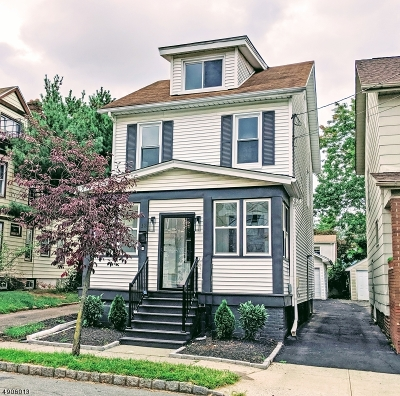 Maplewood Twp. Single Family Home For Sale: 13 Hilton Ave