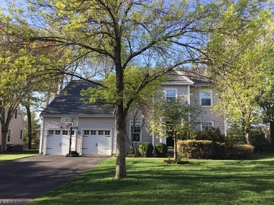 Bernards Twp., Bernardsville Boro Single Family Home For Sale: 7 Carlisle Rd