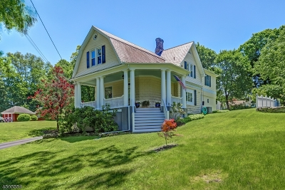 Peapack Gladstone Boro Single Family Home For Sale: 10 Bodine Ave