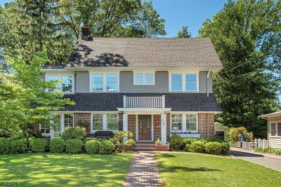 Montclair Twp. Single Family Home For Sale: 172 Montclair Ave