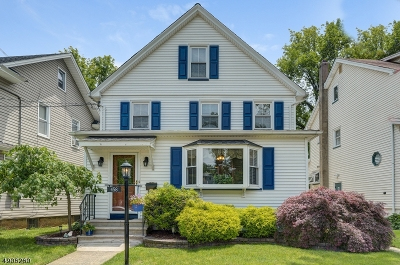 Roselle Park Boro Single Family Home For Sale: 458 Colonial Rd
