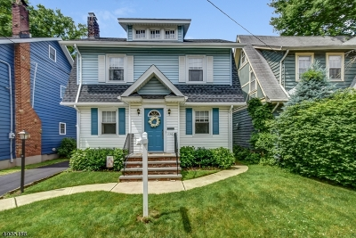 Maplewood Twp. Single Family Home For Sale: 150 Garfield Pl