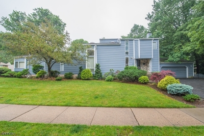West Orange Twp. Single Family Home For Sale: 18 Hillcrest Ave