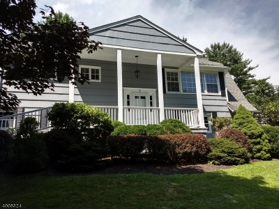 Chester Twp. NJ Single Family Home For Sale: $629,900