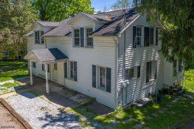 Hunterdon County Multi Family Home For Sale: 109-111 Red Mill Rd