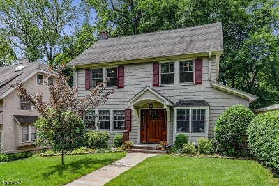 Montclair Twp. Single Family Home For Sale: 36 Macopin Ave