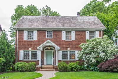 Montclair Twp. Single Family Home For Sale: 106 Summit Ave