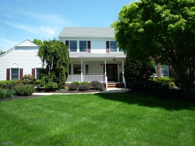 Montgomery Twp. NJ Single Family Home For Sale: $649,900