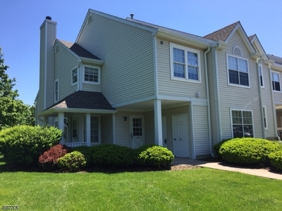Holland Twp., Milford Boro Condo/Townhouse For Sale: 102 Reynard Dr