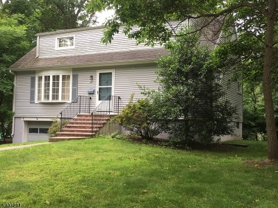 Florham Park Boro Single Family Home For Sale: 34 Keyes St