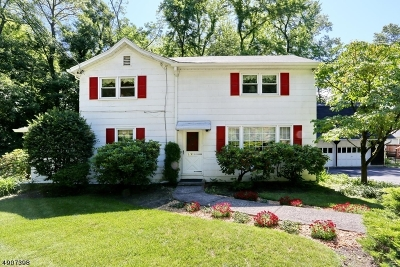 Wyckoff Twp. Single Family Home For Sale: 318 Newtown Rd