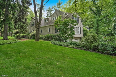Bernards Twp., Bernardsville Boro Single Family Home For Sale: 1 Sunnybrook Rd