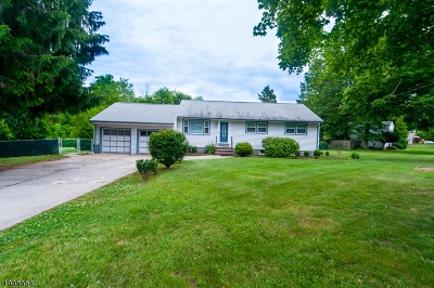 Franklin Twp. Single Family Home For Sale: 80 Claremont Rd
