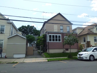 Paterson City Multi Family Home For Sale: 554-556 21st Ave