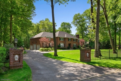 Franklin Lakes Boro Single Family Home For Sale: 747 Butternut Dr