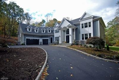 Warren Twp. NJ Single Family Home For Sale: $1,799,000