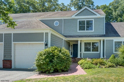Morristown Town, Morris Twp. Single Family Home For Sale: 4 Woodcrest Dr