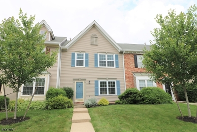 Branchburg Twp. Condo/Townhouse For Sale: 103 Red Crest Ln