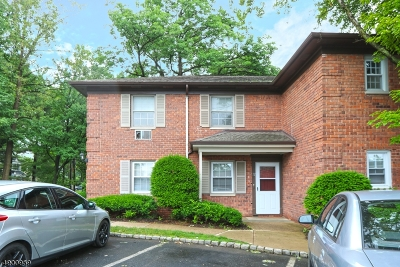 Millburn Twp. Condo/Townhouse For Sale: 72a Lakeside Drive #72A