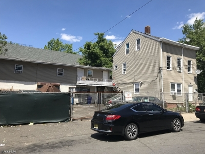 Paterson City Multi Family Home For Sale: 129-131 16th Ave