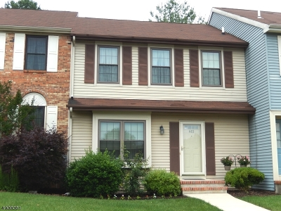 Hillsborough Twp. NJ Condo/Townhouse For Sale: $270,000