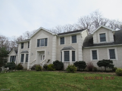 Hardyston Twp. Single Family Home For Sale: 24 Stonehedge Dr