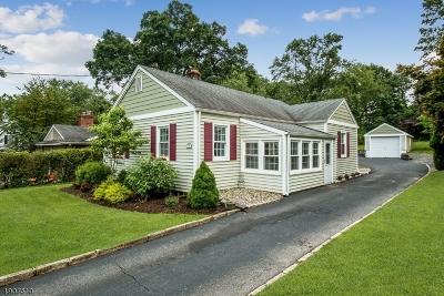 Florham Park Boro Single Family Home For Sale: 70 Hillside Ave